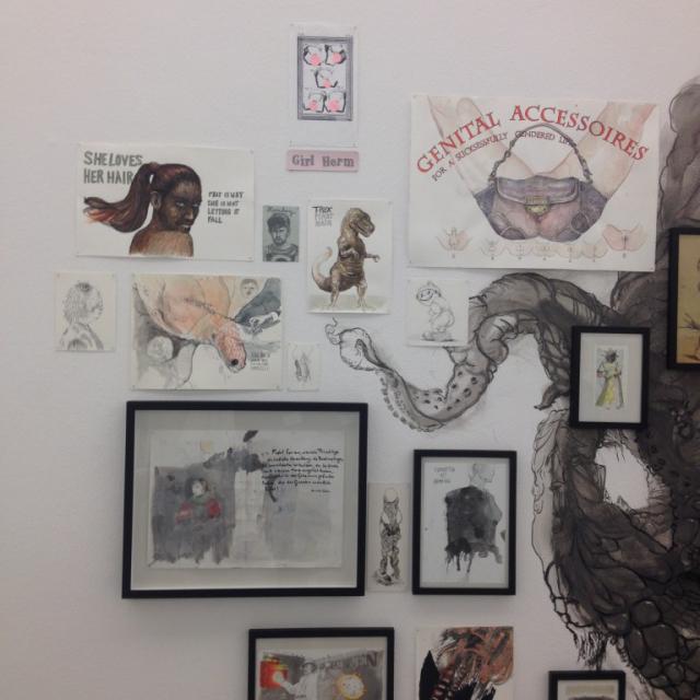 """Detail """"Ancestors' Branch"""" LWL Museum für Kunst und Kultur, 2016"""