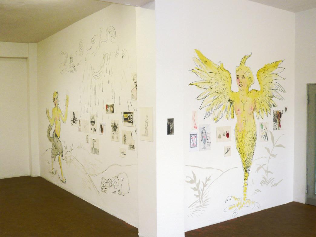 Ettlich Sind Bederlay Geslechts - Installation view - Solo Show — Galerie Herold, Bremen (2010)